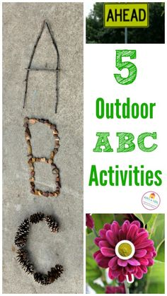 Jacquie from Edventures with kids joins our ABCs and 123s letter and math series today with five great ideas for outdoor ABC activities. 5 outdoor ABC activities for kids We love using nature to inspire learning! Once spring weather sets in, we are more than ready to play, learn and explore using fun outdoor activities. …