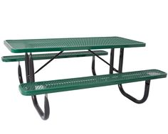 Everest Series 6-Ft. Heavy Duty Picnic Table. Thermaplastic