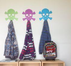 Skull Coat Rack by MeerkatProducts on Etsy