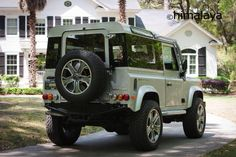 Land Rover DEFENDER's new look