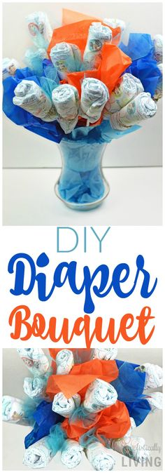 DIY Diaper Bouquet