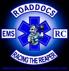 The EMS Roaddocs Riding Club is made up entirely of full and part time people who work in Emergency services active and retired this includes doctors, nurses, paramedics, EMT's and Firefighters.