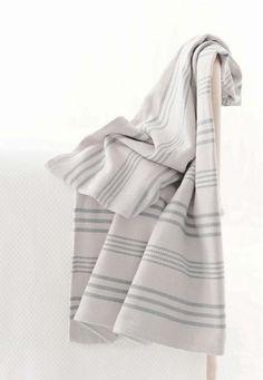Aland Stripe Cotton Woven Rug design by Dash & Albert