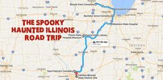 This Haunted Road Trip Will Lead You To The Scariest Places In Illinois