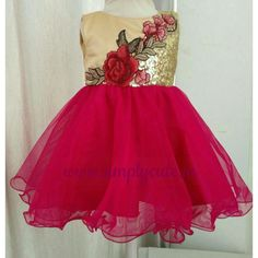 This  Simply cute  customized birthday dress is comfortable and stunning. d5a054f7b