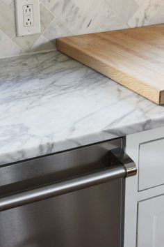 THE RAVENNA HOUSE You may have noticed that there's a lot of marble in the Porch Housekitchen. But it's not the first time we've used marble. Back when we were remodeling the Ravenna kitchen, some fourodd years ago, we chose marble countertops. Yup, we put marble in a rental house. Of course it wasn't a …