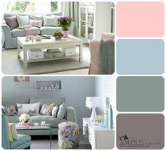 Gama de colores para tu salón