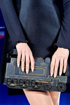 Kate Spade New York Fall 2014 Train Clutch ...I don't know why I am so obsessed with this!