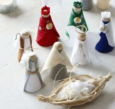 How to make a nativity scene - housebeautiful.co.uk