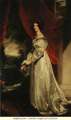 Sir Thomas Lawrence. Caroline, Duchess of Richmond.