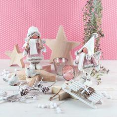 Süß oder ? Unsere wunderschöne Weihnachtsengel zaubern einen einfach ein lächeln ins Gesicht.