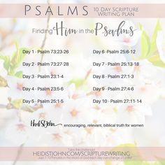 Daily Scripture Writing | Author and Speaker, Heidi St. John