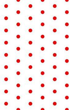 Tiny Red Polka Dot Wallpaper