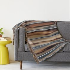 Wood Texture Cool Unique Throw - diy cyo customize create your own personalize