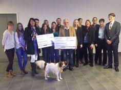 Spendenübergabe durch unsere Azubis: 8.000 Euro für zwei tolle Organisationen