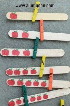 30 Ideias para aprender os números, formas geométricas e alfabeto - Aluno On