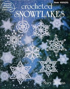 crochet - livros - books - Crocheted Snowflakes - Raissa Tavares - Picasa Web Albums