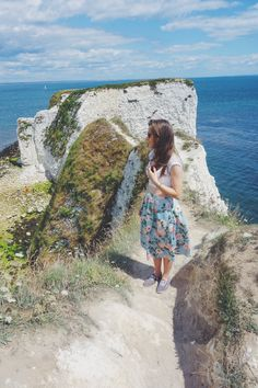 Standing on Old Harry Rocks