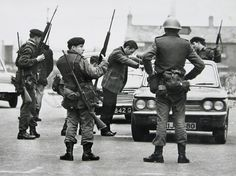 People do not realize there is still an English and English supported paramilitary presence in N.I.