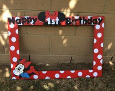 Diy Photo Booth Frame Minnie Mouse Archidev