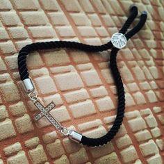 Čierny zirkónový náramok s krížikom, MBZ011 Bracelets, Men, Jewelry, Fashion, Jewerly, Moda, Jewlery, Fashion Styles, Schmuck