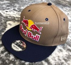 c04e806c600 Red bull athlete only hat - m l - very rare - 2018 - snapback