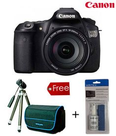 Rugged n with free goodies! Canon EOS 60D SLR (Kit 18-55mm IS)  http://www.snapdeal.com/product/electronic-digital-slrs/CanonEOS60-56211?pos=17;23