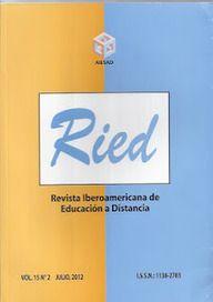 RIED, Vol. 15.2 (julio, 2012) | Contextos universitarios mediados
