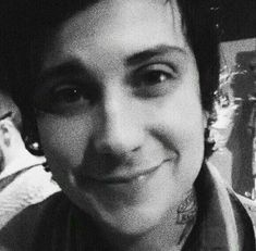 Frank Iero and his cuteness