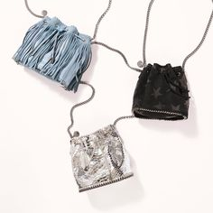Discover new iterations of our iconic #Falabella bag with new bucket styles on #StellaMcCartney.com