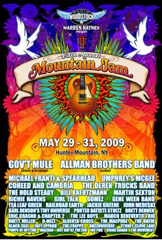 Gov't Mule [05-29-2009] Mountain Jam V, Hunter Mountain, Hunter, NY »