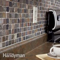 New Backsplash with Kitchen Mosaic Tile - Step by Step | The Family Handyman