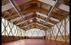 Escuela Industrial   AAVP Arquitectura   Saint-Denis, France