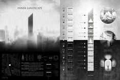 """ INNER LANDSCAPE "" - Tokyo Vertical Cemetery competition finalist"