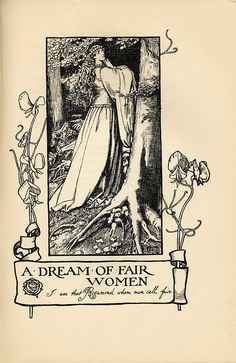 Poems By Alfred Lord Tennyson | with illustrations by E. F. Brickdale. London 1907.
