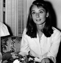 Candid Audrey Hepburn