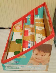 Cardboard Crafts Kids, Cardboard Recycling, Diy Cardboard Furniture, Toddler Playpen, Kids Room Bookshelves, Diy Playground, Baby Room Diy, Toddler Learning Activities, Diy Home Crafts