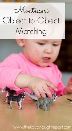 Object-to-Object Matching for Montessori Toddlers