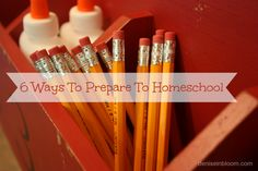 Today I am sharing 6 ways to prepare to homeschool in your heart and home. If you are new here, each week I will cover some topic on home educating once a week to encourage and support the homeschool community.