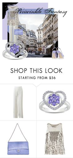 Periwinkle Fantasy by jackie-o-ver-fifty on Polyvore featuring Dorothy Perkins, Michael Kors, Sergio Rossi, Chanel and Miadora