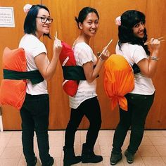 Ghouls Gone Wild! 60 Creative Girlfriend Group Costumes: You know the drill: you and your girlfriends spend weeks talking about your group costume only for Halloween to creep up on you without actually planning anything.