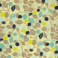 Holly Lodge 6 - kleurenmix - Indian Summer – Decoratiestoffen - Decoratiestoffen bloemen - stoffen.net