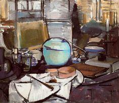 Piet Mondrian (1872-1944) - Still Life with Gingerpot I (Stilleven met gemberpot I), 1911-12