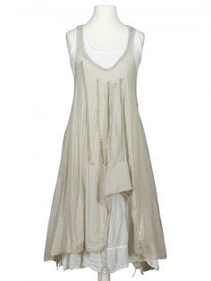 Damen Lagenlook Kleid 2-tlg., taupe von Z 4 bei www.meinkleidchen.de