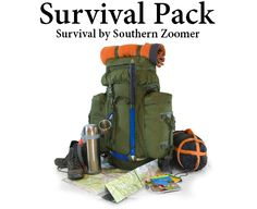 Survival Pack - Survival by Southern Zoomer - What do you need in your survival pack? Find out here!