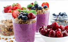Recipe: Tangy Cherry Berry Ginger Smoothie Serves 2-4 Ingredients: 2 cups…