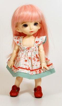 Boneka Doll BJD dress 6 inch / 15 cm