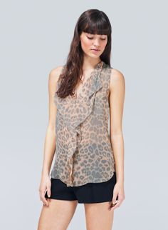 T. BABATON AINSLEY BLOUSE - found this on Aritzia website... Too bad it's $110, because its so me!