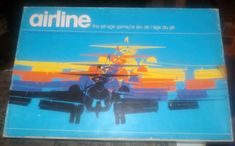 Vintage 1975 Airline board game published by Gamma Two | Etsy