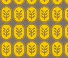 """wheat linen"" from my ""copenhagen"" collection on spoonflower"